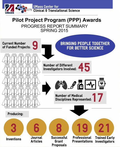 Progress Reports Summary, Pilot Project Fund Awards, Spring 2015.